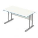 stůl psací, kovové podnože