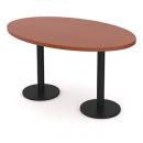 stůl jednací 2 litinové podnože