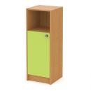 skříň střední 40 cm - 1-dveřová s nikou L/P
