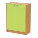 skříň střední 80 cm - 2-dveřová