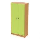 skříň vysoká 80 cm - 2-dveřová