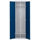 skříň šatní 2-dveřová celokovová