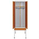 skříň šatní 2-dveřová s lavicí