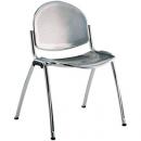 STAR stříbrná - jednací židle