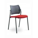 DREAM 4 nohy síťovaný opěrák - jednací židle