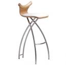 STRING C - ČALOUNĚNÁ - barová židle