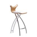 STRING POLO C ČALOUNĚNÁ - barová židle
