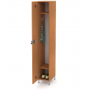 šatní skříň 1-dveřová 1-modulová