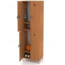 šatní skříň 4-dveřová 2-modulová