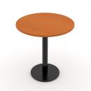 Stůl jednací kruhový na litinové podnoži