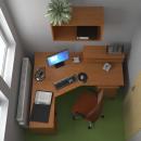 sestava kancelářského nábytku NL do 15 000,- č.1