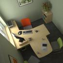 sestava kancelářského nábytku NL do 15 000,- č.2