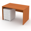 Stůl psací 120 cm plné boky