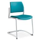 DREAM plus 104 white - jednací židle