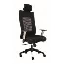 LEXA s podhlavníkem - kancelářská židle