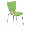 OPOLA čalouněný sedák i opěrák - jídelní židle