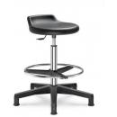 506 - pracovní PU židle