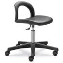 502-O - pracovní PU židle