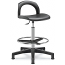 503-O - pokladní PU židle