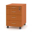 Kontejner (tužkovník + 3 zásuvky)