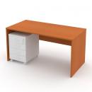 Stůl psací 140 cm plné boky