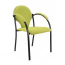 NEON černý - jednací židle