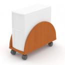 PC box pojízdný