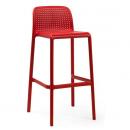 BORA BAR - plastová barová židle