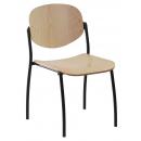 WENDY dřevěná - konferenční židle