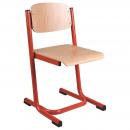 Školní židle EDUCAL - kruhový profil
