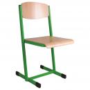 Školní židle EDUCAL - profil plochoovál