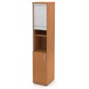 Skříň vysoká úzká 1-dveřová + roleta
