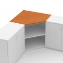 krycí deska rohové skříně