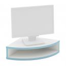 podstavec pod monitor 1/4 kruhový