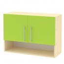 skříň horní 2-dveřová závěsná s nikou, 90 cm