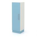 skříň střední úzká 1-dveřová